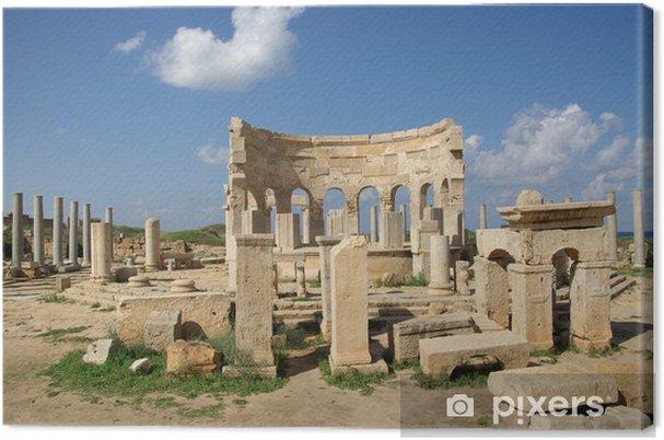 Obraz na płótnie Roman rynku, Libia - Afryka