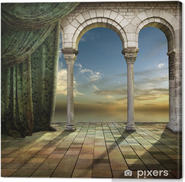 Obraz na płótnie Romantic Place - Wakacje