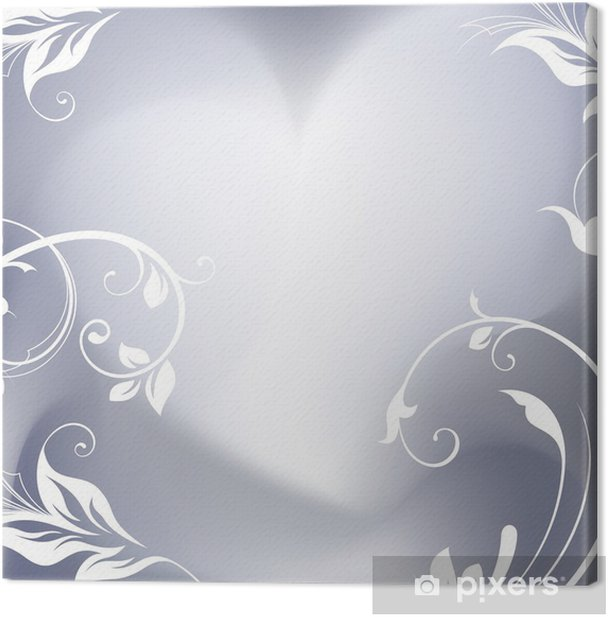 Obraz na płótnie Romantyczne tło - Szczęście