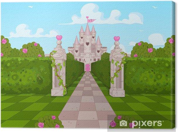 Obraz na płótnie Romantyczny zamek - Przeznaczenia