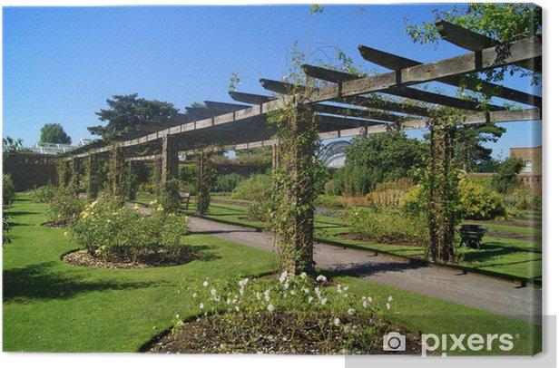 Obraz na płótnie Rose Arch, Dukes Garden, Kew Gardens, Londyn, UK - Wakacje