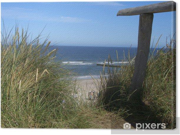 Obraz na płótnie Rotes Kliff, Kampen / Sylt - Wakacje