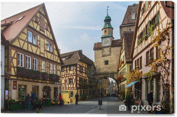 Obraz na płótnie Rothenburg ob der Tauber - Europa