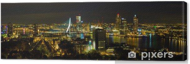 Obraz na płótnie Rotterdam nocą - Tematy