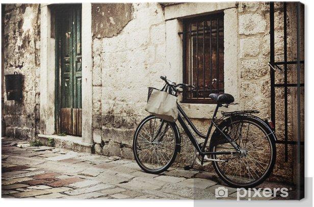 Obraz na płótnie Rower z torby na zakupy - Tematy