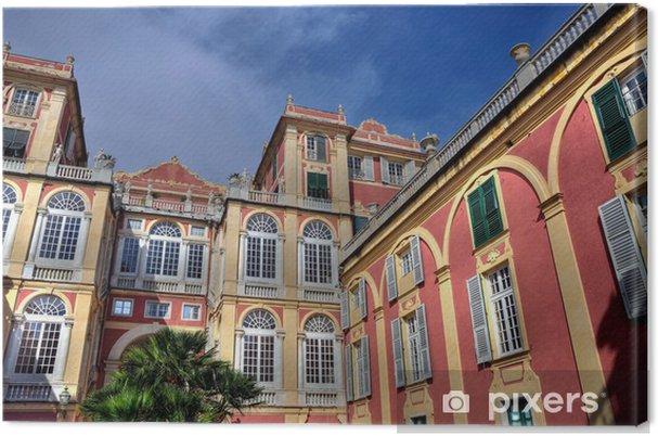 Obraz na płótnie Royal Palace, Genoa (hdr) - Europa
