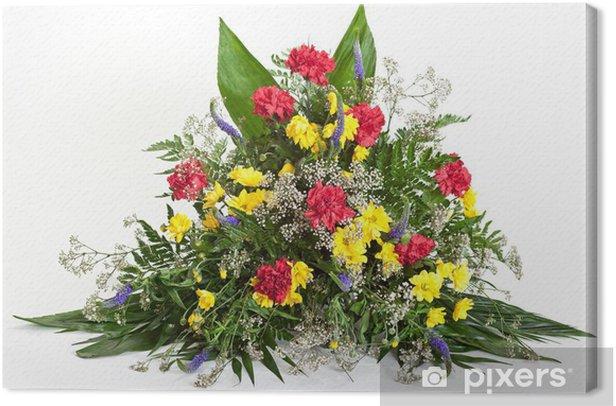 Obraz na płótnie Rozmieszczenie kwiatowym - Kwiaty