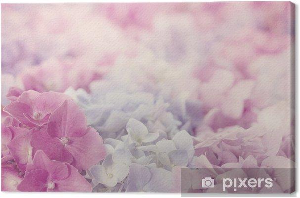 Obraz na płótnie Różowe kwiaty hortensja - Tematy