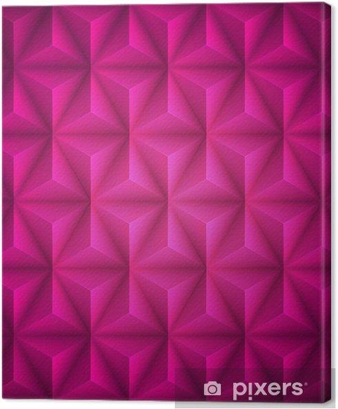 Obraz na płótnie Różowy Geometryczne abstrakcyjne low-poly tło papieru. Wektor - Zasoby graficzne