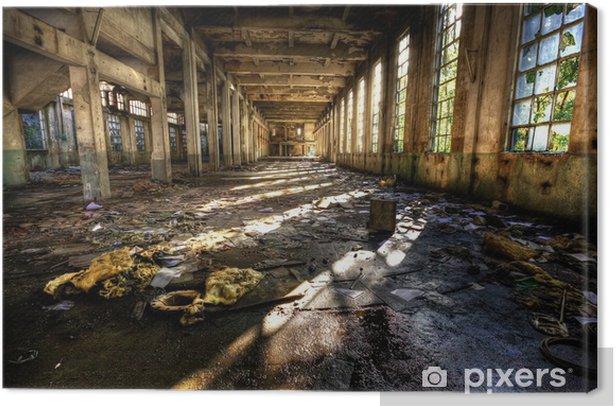 Obraz na płótnie Rozpad przemysłowa - Zabytki