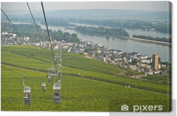 Obraz na płótnie Rüdesheim kolejka linowa - Europa