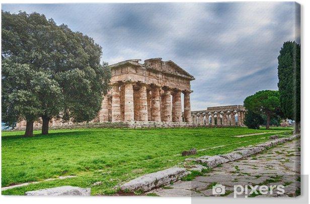Obraz na płótnie Ruiny świątyni - Europa