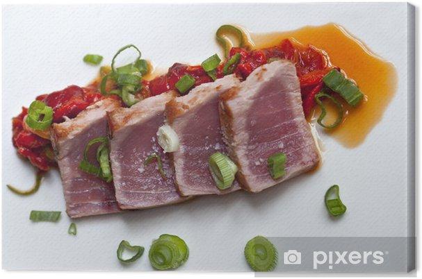 Obraz na płótnie Ryby, tuńczyk, jedzenie, gotowanie, jedzenie, posiłki, żywność - Posiłki