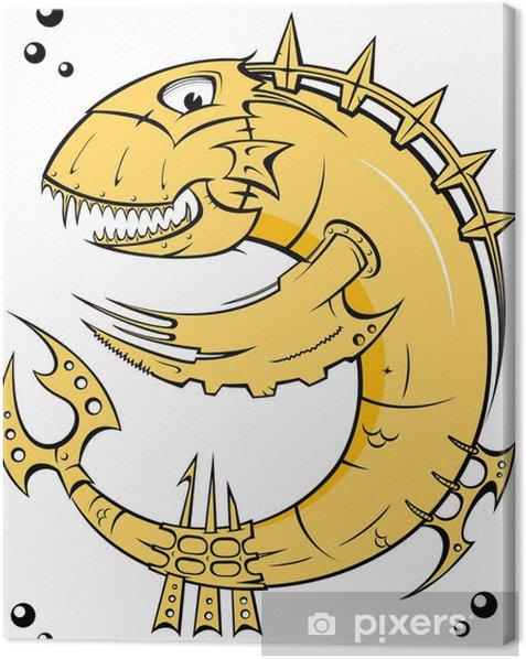 Obraz na płótnie Ryby żelaza żółty - Zwierzęta żyjące pod wodą