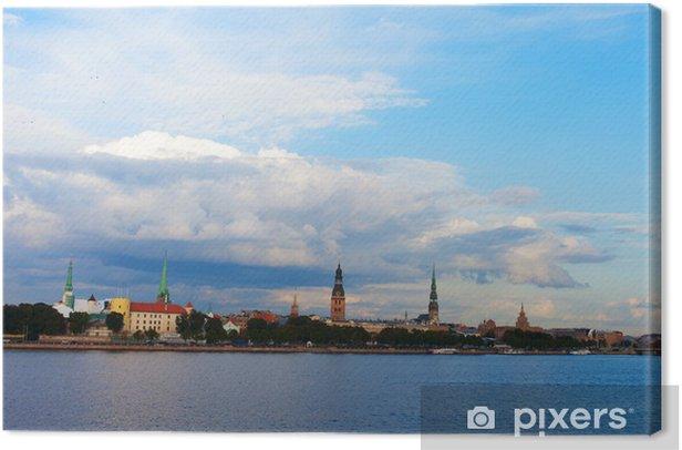 Obraz na płótnie Rydze, stolicy Łotwy. - Europa
