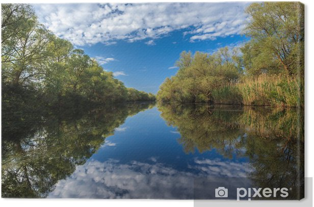 Obraz na płótnie Rzeka kanał - Tematy