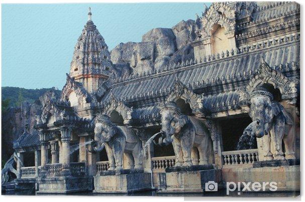 Obraz na płótnie Rzeźby słonia - Azja