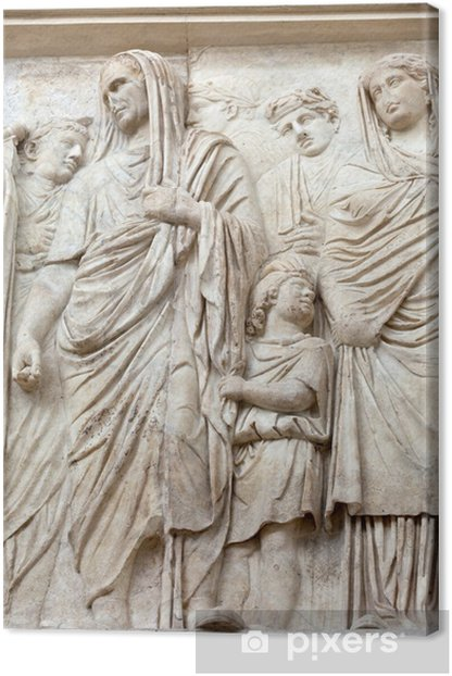 Obraz na płótnie Rzym - Ara Pacis, Ołtarz Pokoju Augusta - Miasta europejskie