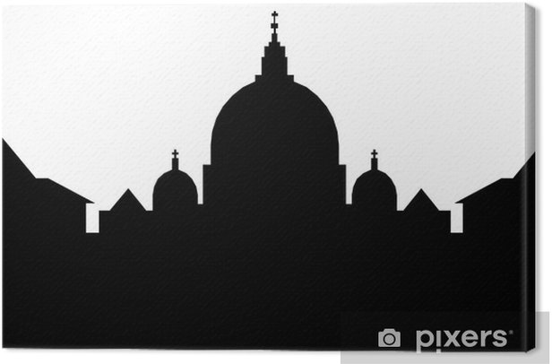 Obraz na płótnie Rzym skyline - Inne