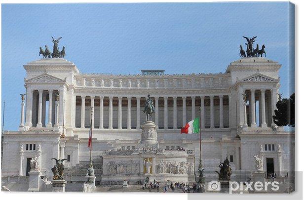 Obraz na płótnie Rzym - Pejzaż miejski