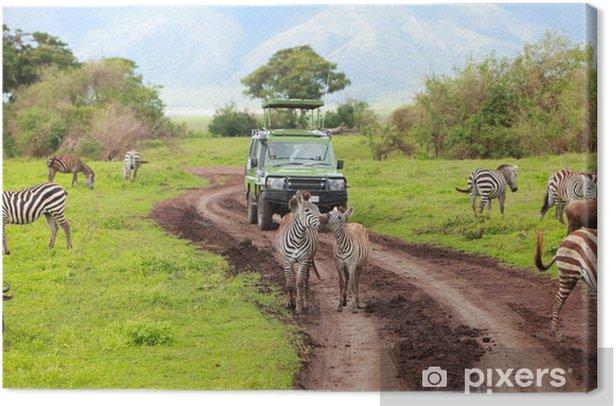 Obraz na płótnie Safari - Afryka