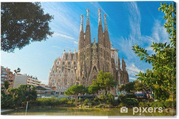 Obraz na płótnie Sagrada Familia, Barcelona, Hiszpania. - Tematy