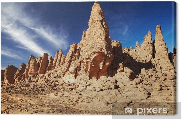 Obraz na płótnie Sahara, Tassili n'Ajjer, Algieria - Afryka