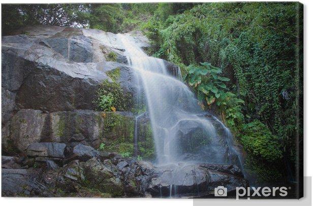 Obraz na płótnie Saiku Wodospad w parku narodowym w Prachuapkhirikhan prowincji - Azja