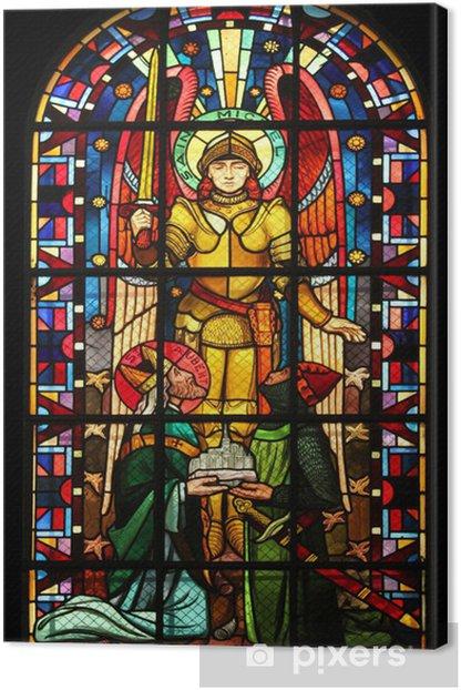 Obraz na płótnie Saint Michael kościół Notre Dame de Clignancourt, Paryż, Francja - Budynki użyteczności publicznej