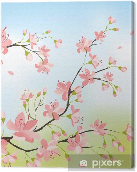Obraz na płótnie Sakura drzewa - Tematy