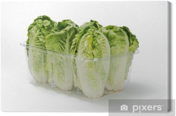 Obraz na płótnie Sałata serca - Warzywa