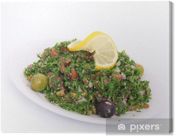 Obraz na płótnie Sałatka tabbouleh - Warzywa