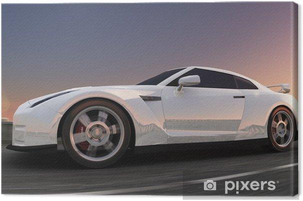 Obraz na płótnie Samochód sportowy - Transport drogowy