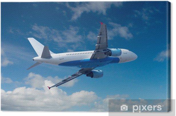 Obraz na płótnie Samolot na niebie - Wakacje