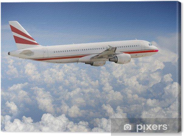 Obraz na płótnie Samolot na niebie - Transport powietrzny