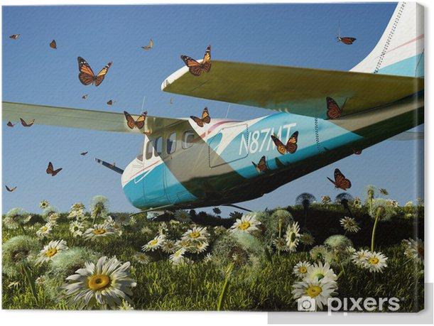 Obraz na płótnie Samolot pasażerski - Transport powietrzny