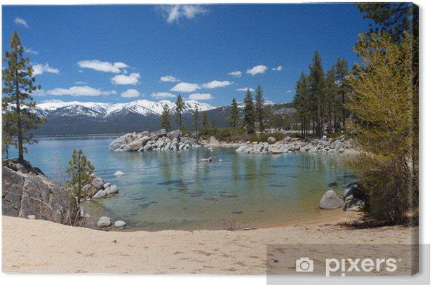 Obraz na płótnie Sand Harbor, Lake Tahoe - Ameryka
