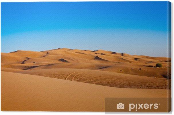 Obraz na płótnie Sandy desert - Pustynia