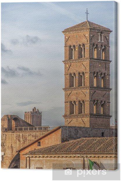 Obraz na płótnie Santa Francesca Romana w Rzymie - Miasta europejskie
