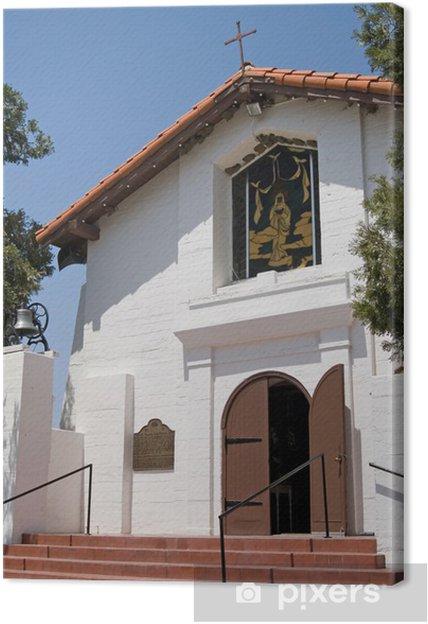 Obraz na płótnie Santa Ysabel Assistance - Budynki użyteczności publicznej