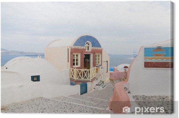 Obraz na płótnie Santorini piękne budynki - Pory roku