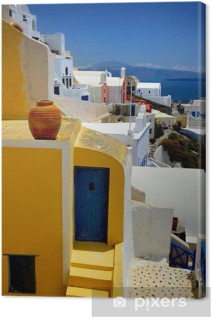 Obraz na płótnie Santorini - Zabytki