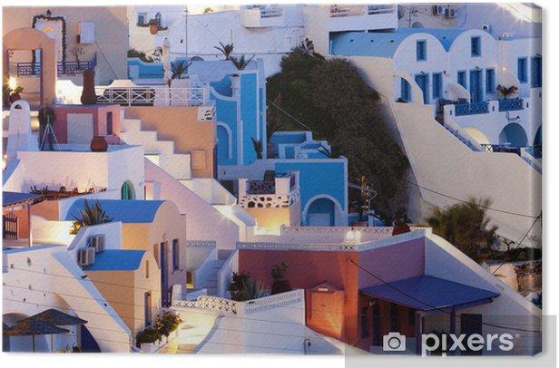 Obraz na płótnie Santorini - Europa