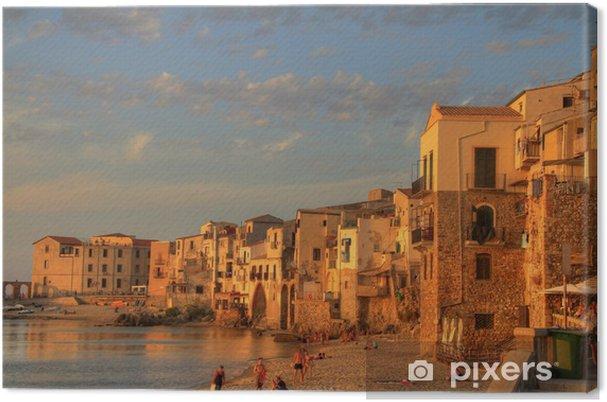 Obraz na płótnie Sceny z Sycylii - Europa