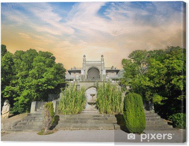 Obraz na płótnie Schody i pałac - Niebo