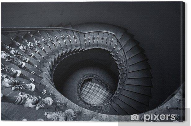 Obraz na płótnie Schody spiralne - Budynki prywatne