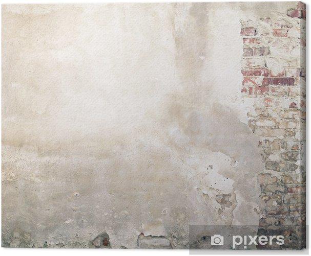 Obraz na płótnie Ściany tekstury - Tematy