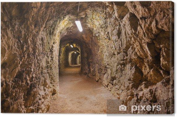 Obraz na płótnie Sekret Zamek Tunel w Kufstein - Austria - Tematy