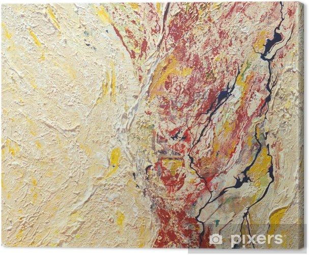 Obraz na płótnie Seria topograficzna - Sztuka i twórczość