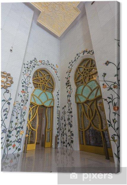 Obraz na płótnie Shaikh Zayed Mosque między - Inne